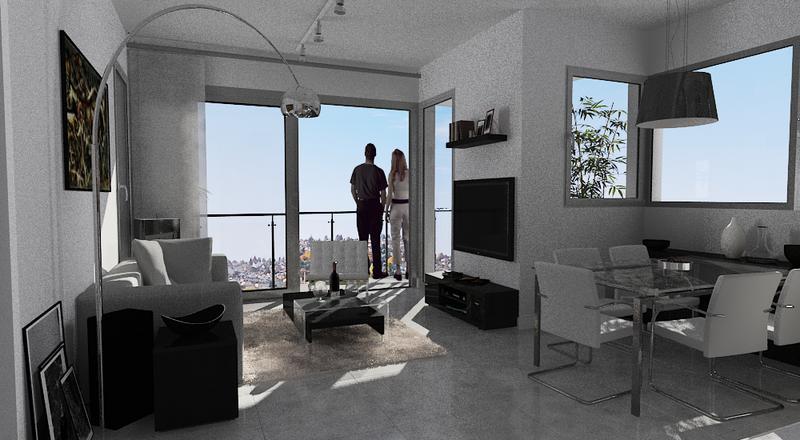 Foto Departamento en Alquiler en  San Miguel ,  G.B.A. Zona Norte  SERRANO al 1400 11 piso CF con cochera y Baulera