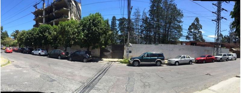 Foto Terreno en Venta en  Centro Norte,  Quito  ATENCION CONSTRUCTORES , 3000 MTS DE TERRENO EN BELLAVISTA, VISTA, EST