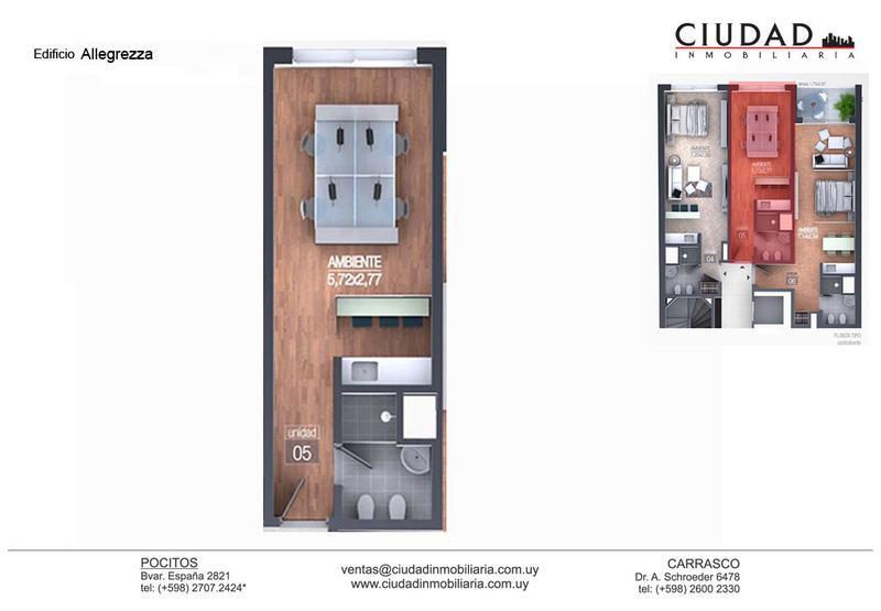 Foto Departamento en Venta en  Pocitos Nuevo ,  Montevideo  Lo mejor para invertir.