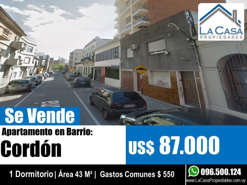Foto Apartamento en Venta en  Cordón ,  Montevideo  Chana al 1800