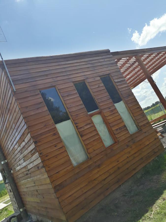 Foto Casa en Venta en  Parque Sakura,  Countries/B.Cerrado (Exaltación)  VENTA CABAÑA CON PISCINA BARRIO PARQUE SAKURA