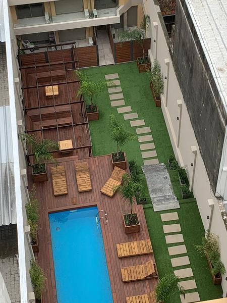 Foto Departamento en Alquiler en  Pocitos Nuevo ,  Montevideo  Priviligiada ubicacion, apartamento monoambiente a estrenar, muy luminoso ,bajos  gastos  comunes