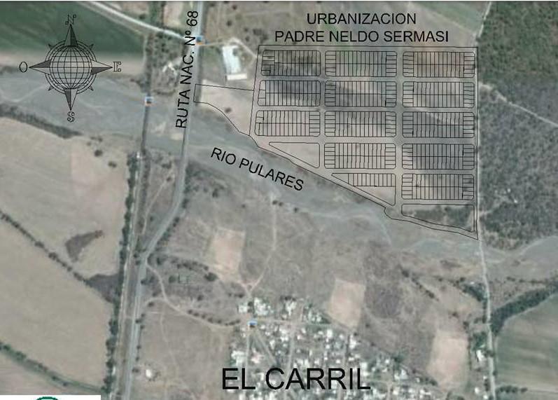Foto Terreno en Venta en  Salta,  Capital  EL CARRIL, RUTA NAC. 68