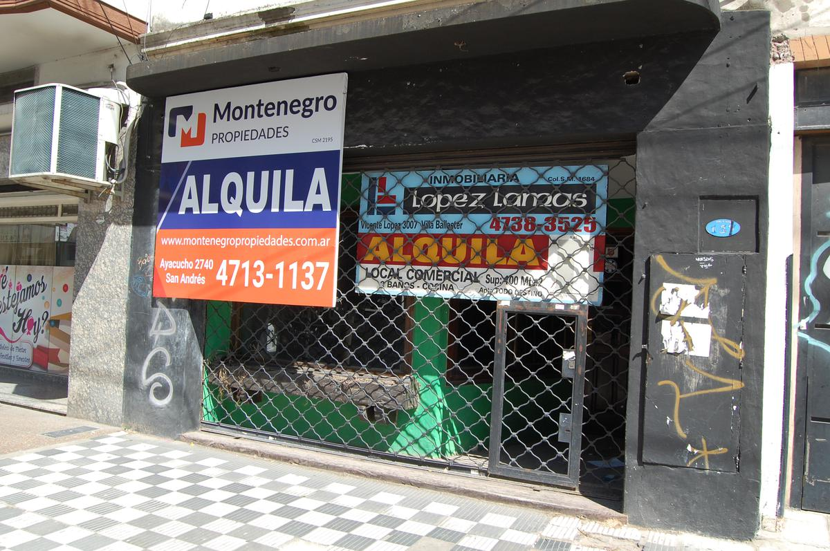 Foto Local en Alquiler en  Villa Ballester,  General San Martin  Vicente López Nº 3000