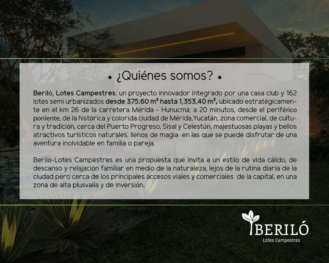 Foto Terreno en Venta en  Hunucmá ,  Yucatán  Lotes Campestres en la zona de  Hunucmá con financiamiento