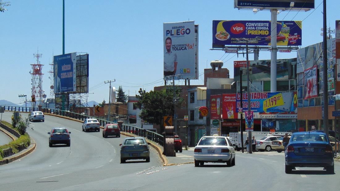 Foto Local en Renta en  Santa Ana TlapaltitlAn,  Toluca  Espectacular en Paseo Tollocan, Cerca  de Torres Bicentenario.