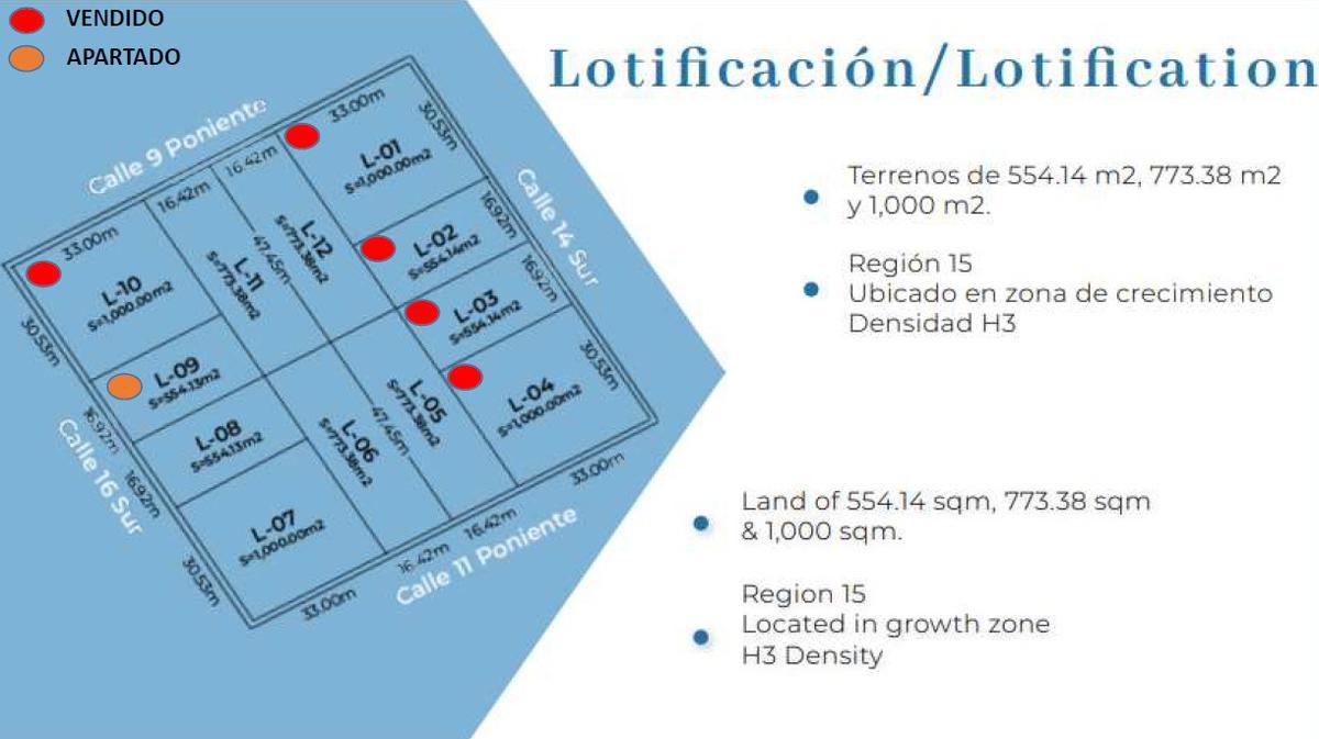 Foto Terreno en Venta en  Region 15 Kukulcan,  Tulum  Tulum Lotes en venta Region 15 a partir de 554 M2