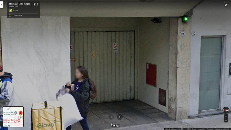 Foto Cochera en Alquiler en  Las Cañitas,  Palermo  Luis M. Campos al 800 entre Maure y Jorge Newbery