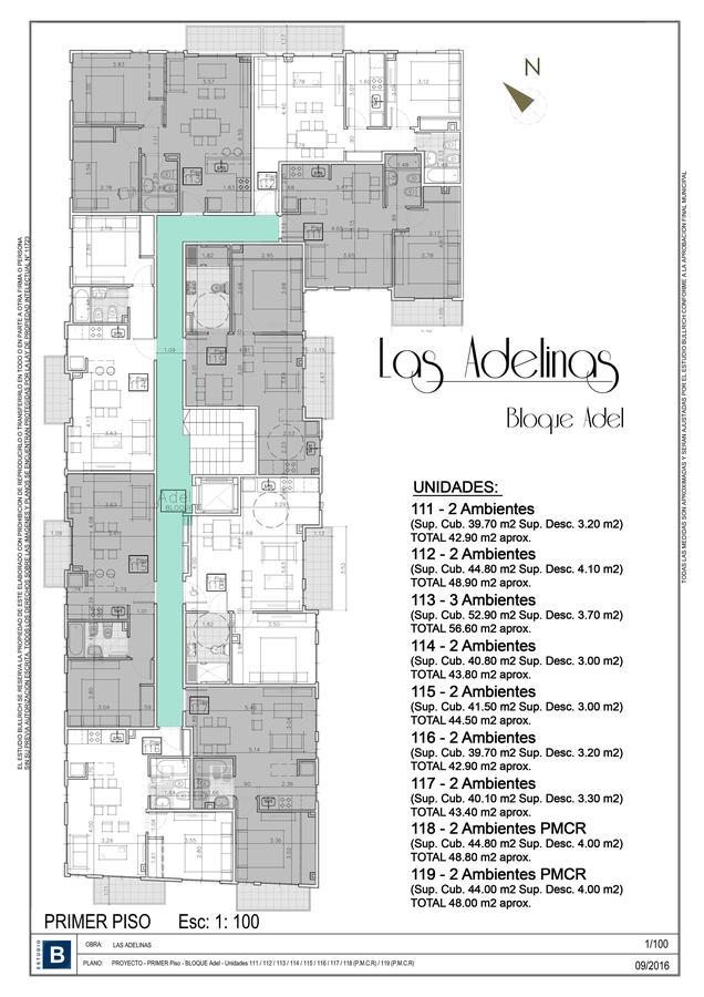 Foto Departamento en Venta en  Villa Adelina,  San Isidro  Cajaraville 4013, Dto. 118