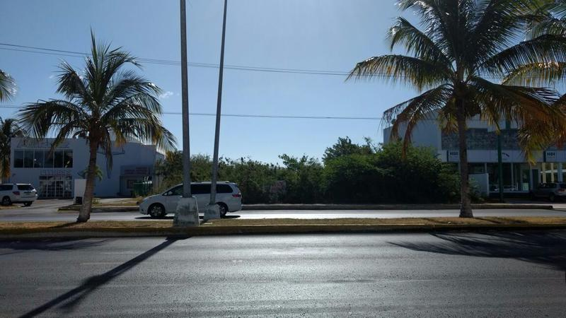 Foto Terreno en Venta | Renta en  Supermanzana,  Cancún  TERRENO EN VENTA Y/O RENTA EN CANCUN SOBRE AVENIDA BONAMPAK