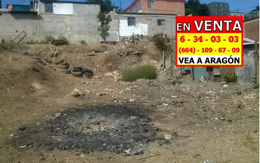 Foto Terreno en Venta en  Tijuana ,  Baja California Norte  VENDEMOS BARATÍSIMO TERRENO 314 MTS2, COL. POPULAR HABITACIONAL $52,000 DLLS.