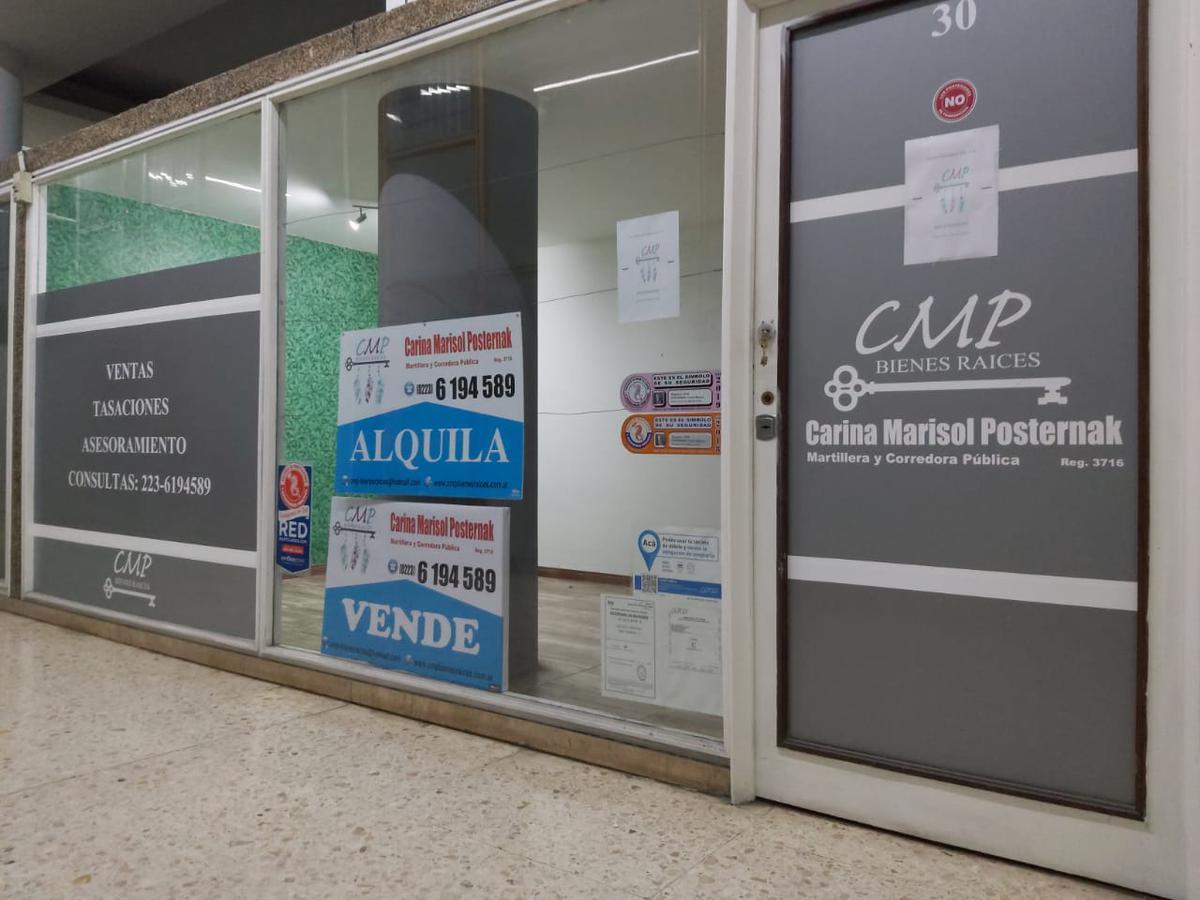 Foto Oficina en Venta en  Mar Del Plata ,  Costa Atlantica  PLAZA COLON oficina reciclada en VENTA