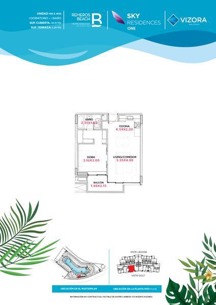 Foto Departamento en Venta en  Remeros Beach,  Rincon de Milberg  RB | SKY 1 - 1410