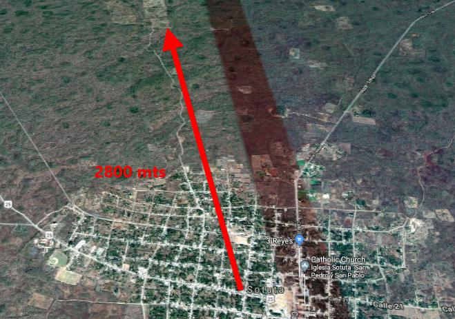Foto Terreno en Venta en  Pueblo Sotuta,  Sotuta  Terreno en venta, son 81 hectáreas Sotuta, Yucatán. Propiedad legal.
