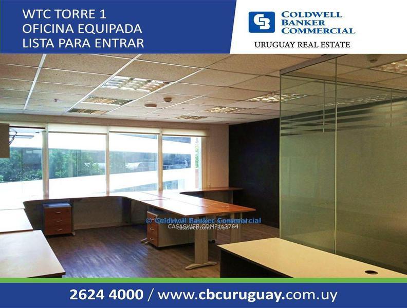 Foto Oficina en Alquiler en  Pocitos Nuevo ,  Montevideo  WTC TORRE 1 Oficina 202