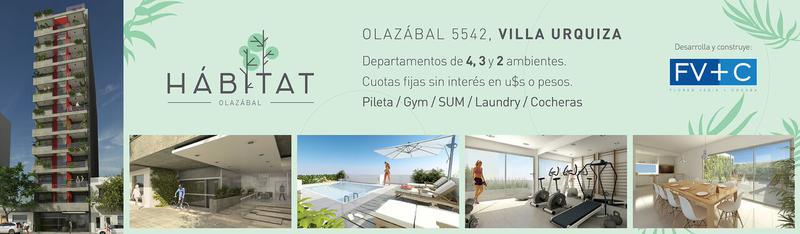 Foto Departamento en Venta en  Urquiza R,  V.Urquiza  Olazabal 5500