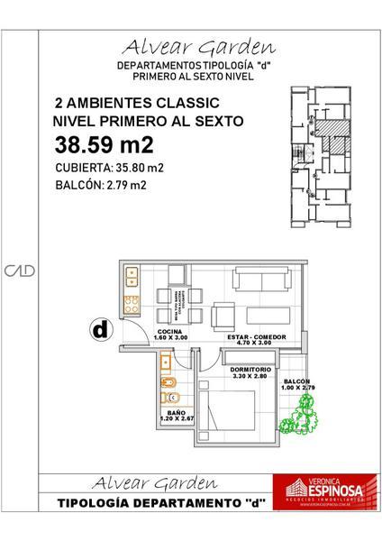 Foto Departamento en Venta en  Ituzaingó,  Ituzaingó  Alvear 900 4ºD