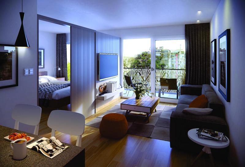 Foto Departamento en Venta en  Pocitos ,  Montevideo  Vivir o trabajar, apartamentos a estrenar un dormitorio