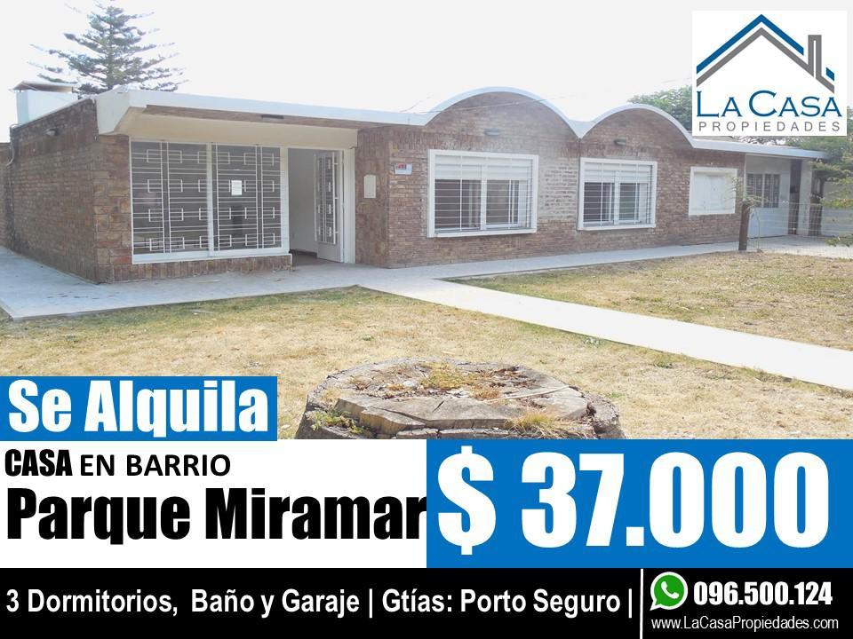 Foto Casa en Alquiler en  Parque Miramar ,  Canelones  Av. La Playa