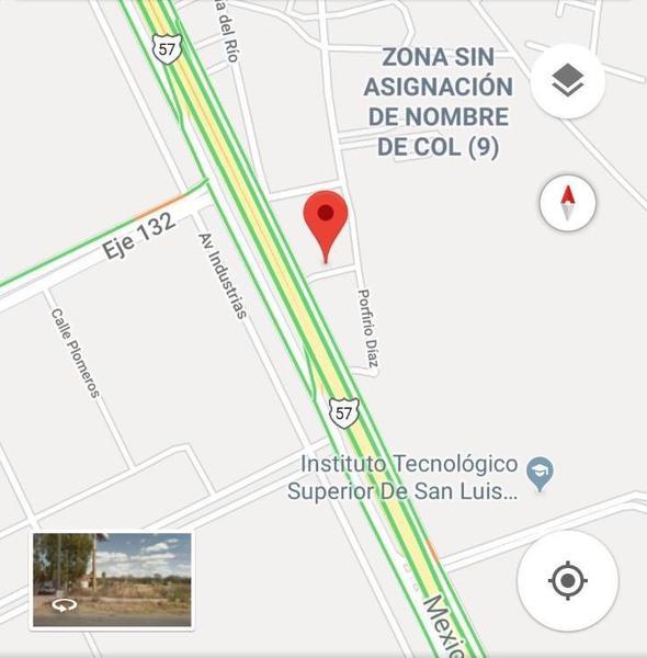 Foto Terreno en Venta en  Villa de Pozos,  San Luis Potosí  TERRENO EN VENTA A PIE DE CARRETERA 57, SAN LUIS POTOSI