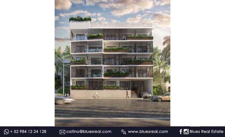 Picture Apartment in Sale in  Playa del Carmen,  Solidaridad  Apartaments for sale in Bahay - Code543