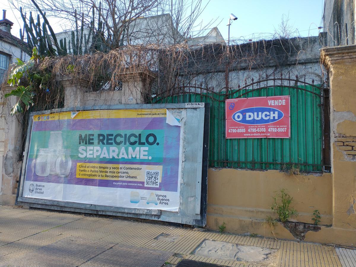 Foto Terreno en Venta en  Monte Castro ,  Capital Federal  Baigorria al 4200