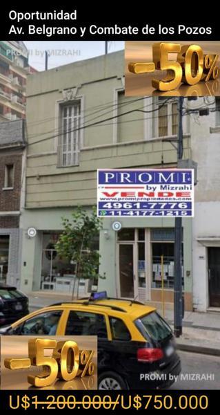 Foto Edificio Comercial en Venta en  San Telmo ,  Capital Federal  AV. BELGRANO AL 1900