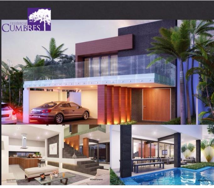 Foto Casa en condominio en Venta en  Supermanzana,  Cancún  Casa en Cumbres Moderna