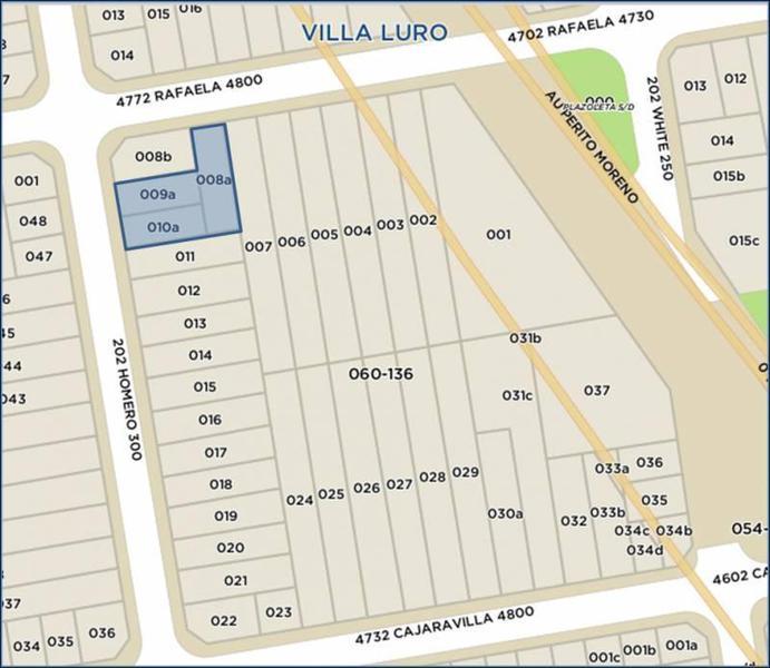 Foto Terreno en Venta en  Villa Luro ,  Capital Federal  Homero y Rafaela al 200