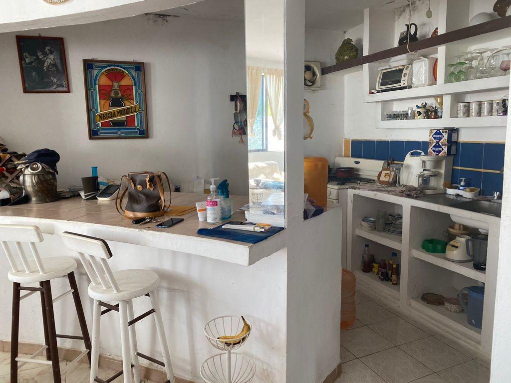 Foto Terreno en Venta en  Alvarado ,  Veracruz  Terreno con pequeña Casa en Mandinga, Alvarado
