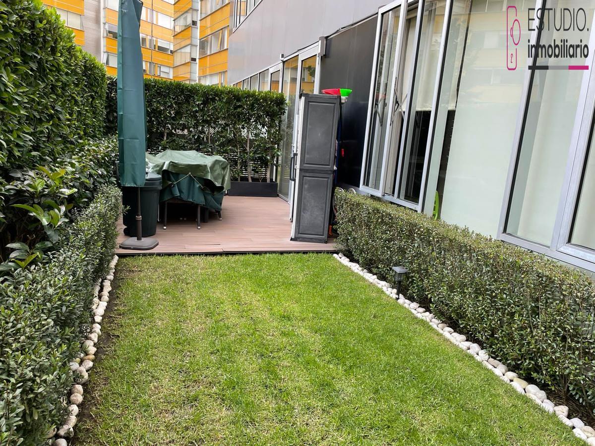 Foto Departamento en Venta en  Santa Fe Cuajimalpa,  Cuajimalpa de Morelos  DEPARTAMENTO GARDEN HOUSE EN VENTA SANTA FE. residencial solei, jardín, seguridad.