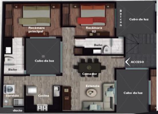 Foto Departamento en Venta en  Napoles,  Benito Juárez  Departamento en venta - Nebraska 173 - 202