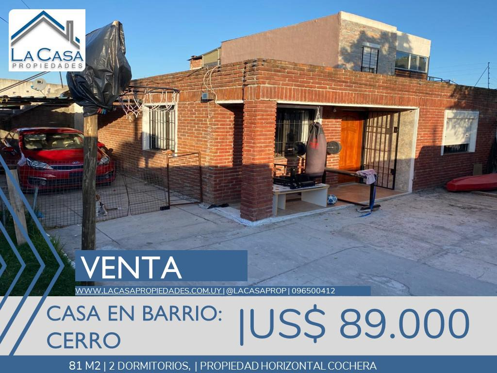 Foto Casa en Venta en  Cerro ,  Montevideo  Bulgaria al 4000