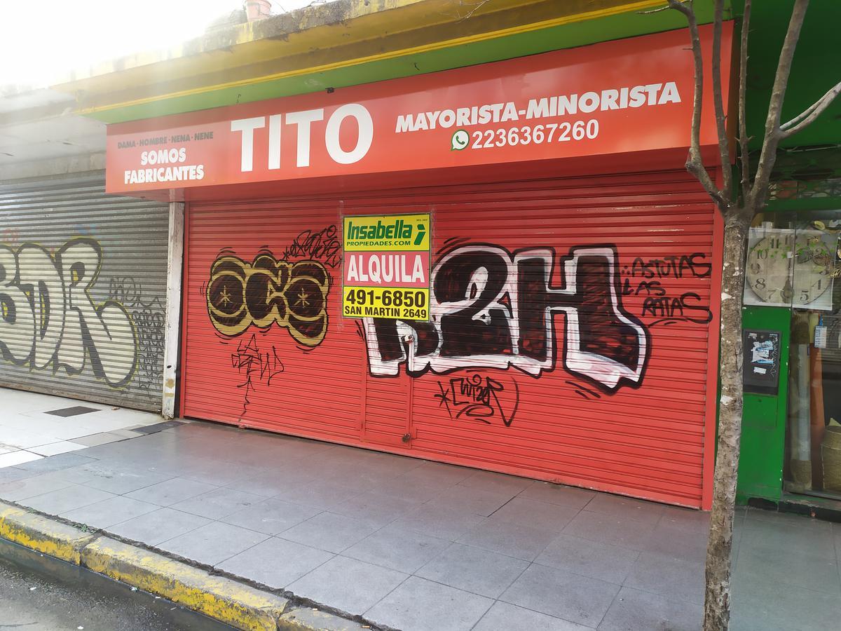 Foto Local en Alquiler en  Centro,  Mar Del Plata  Belgrano 2466, entre Santa Fé y Santiago del Estero
