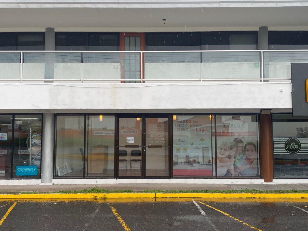 Foto Oficina en Renta en  La Riviera Veracruzana,  Alvarado  PLAZA VISTA BELLA, Oficina en RENTA sobre la Riviera Veracruzana, EXCELENTE UBICACIÓN