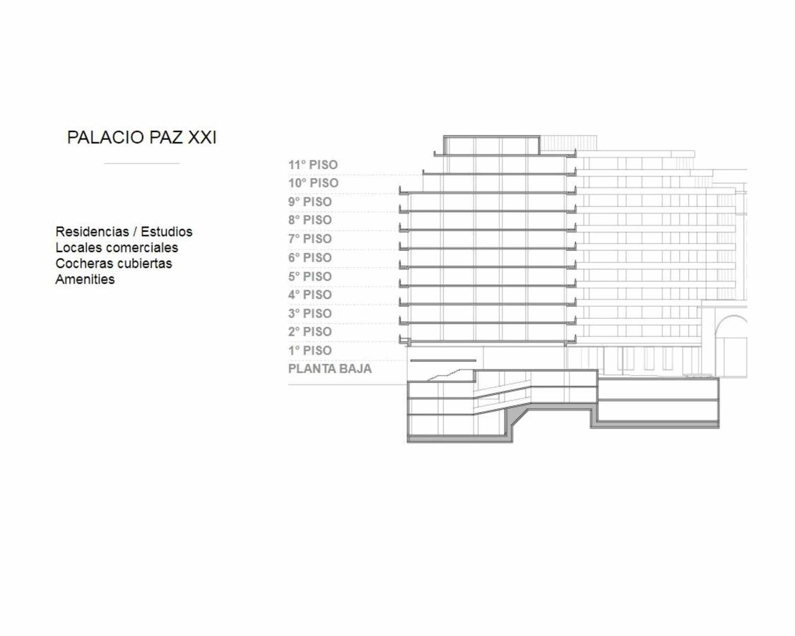 "Foto Departamento en Alquiler en  Retiro,  Centro (Capital Federal)  Av. SANTA FE al 700 PISO 3° ""8"""