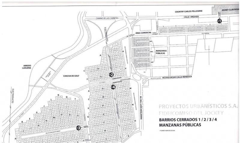 Foto Terreno en Venta en  Fisherton,  Rosario  Los Pasos 3 - Barrio Cerrado