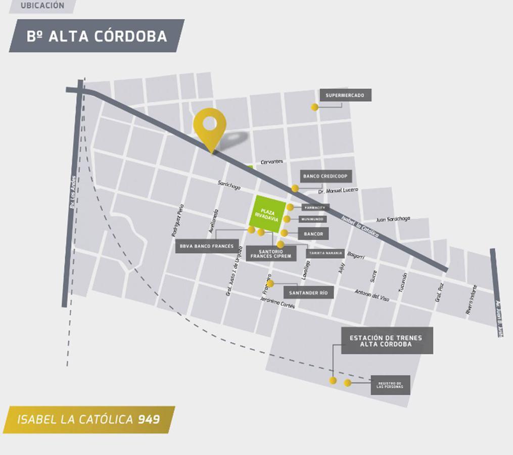 Foto Departamento en Venta en  Alta Cordoba,  Cordoba Capital  Isabel La Católica 900