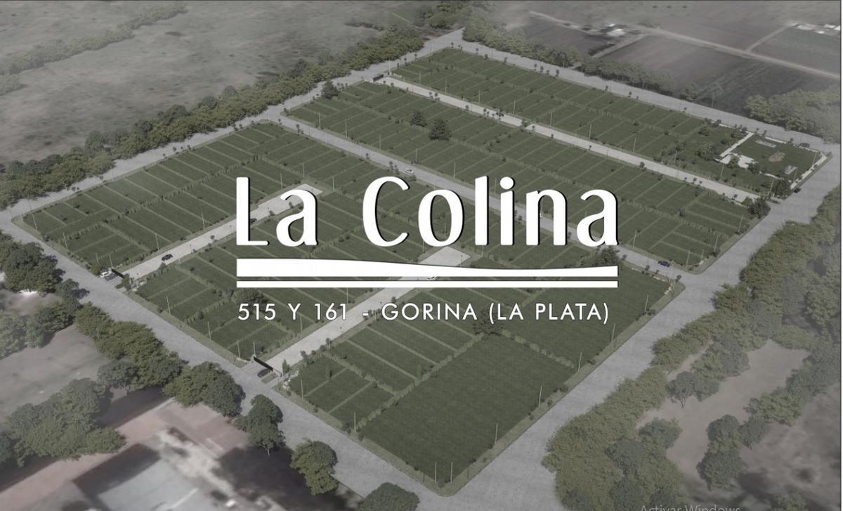 Foto Terreno en Venta en  Joaquin Gorina,  La Plata  515y161   LA COLINA (Mza.B-L.2) UF.3