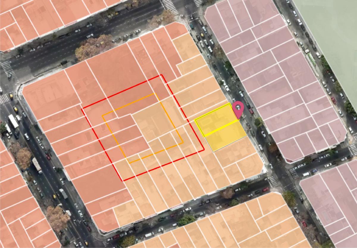 Foto Terreno en Venta en  Flores Norte,  Flores  Terrero al 300 - Terreno en Flores 3792 m2 construibles - Incidencia 593 USD