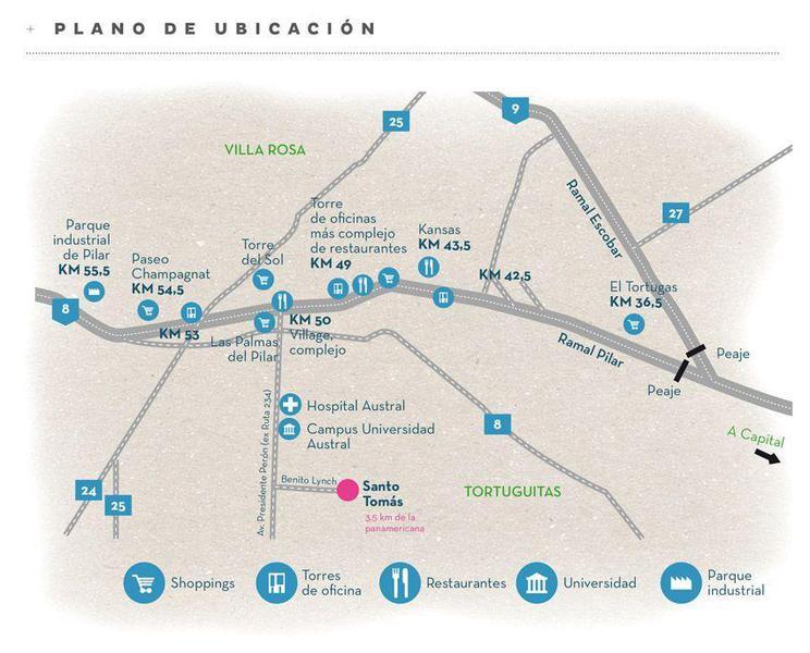 Foto Terreno en Venta en  Santo Tomás ,  Countries/B.Cerrado (Pilar)  Santo Tomas L348