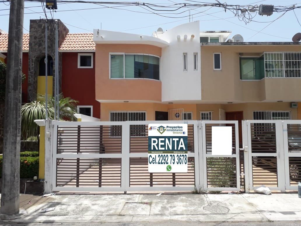 Foto Casa en Renta en  La Tampiquera,  Boca del Río  CASA EN RENTA FRACCIONAMIENTO TAMPIQUERA BOCA DEL RÍO VER