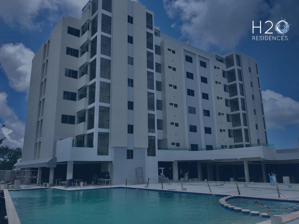 Foto Departamento en Venta en  Aqua,  Cancún  Departamento en PREVENTA  en Residencial  H2O dentro de RESIDENCIAL AQUA  Av Huayacan  Cancun