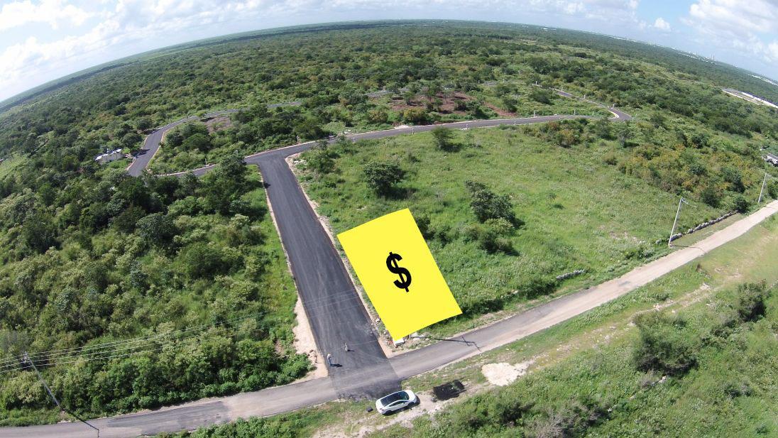 Foto Terreno en Venta en  Hacienda Xcuyun,  Conkal  ¡OPORTUNIDAD! Terreno venta en Mérida, Listo para construir, calles pavimentadas, Zona de Conkal