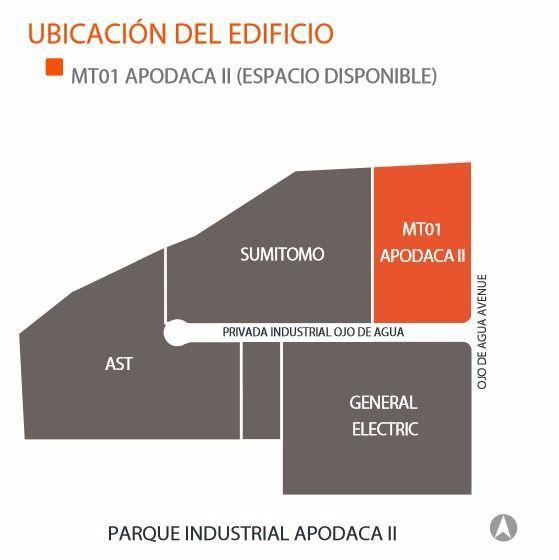 Foto Nave Industrial en Renta en  Moderno Apodaca,  Apodaca  Nave Industrial Apodaca