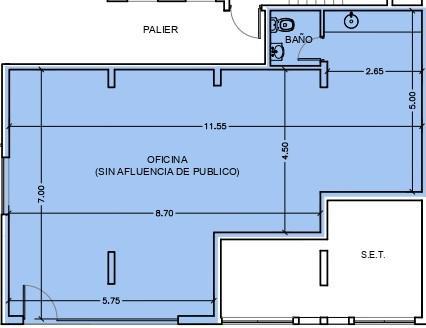 Foto Oficina en Venta en  Centro,  Rosario  CATAMARCA 1554