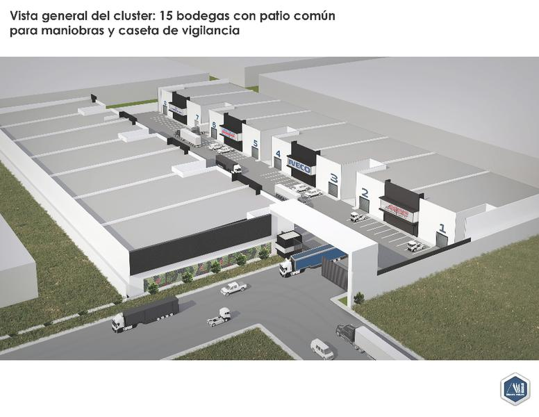 Foto Bodega Industrial en Venta en  Chihuahua,  Chihuahua  PREVENTA BODEGAS EN PARQUE INDUSTRIAL CHIHUAHUA, DESARROLLO CON CASETA DE VIGILANCIA Y CIRCUITO CERRADO.