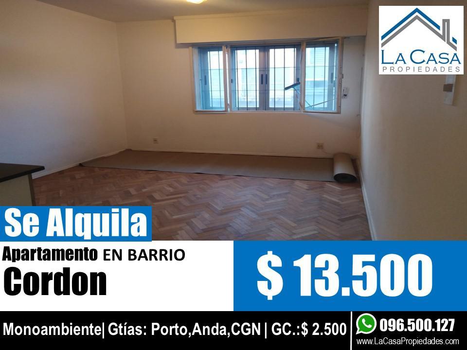 Foto Apartamento en Alquiler en  Cordón ,  Montevideo  18 de Julio 2200/103
