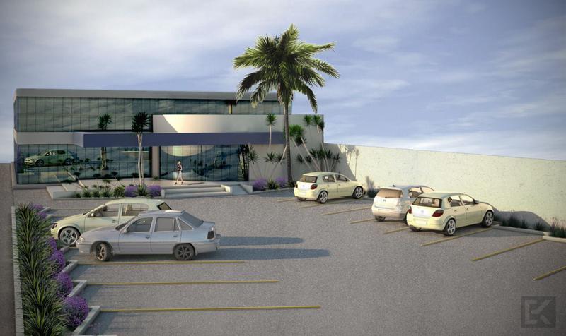 Foto Edificio Comercial en Renta en  Los Rangeles,  Salamanca  Terreno comercial con construcción en Renta en Salamanca, Gto