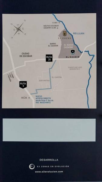 Foto Terreno en Venta en  El Naudir,  Countries/B.Cerrado (Escobar)  El Naudir  al 700